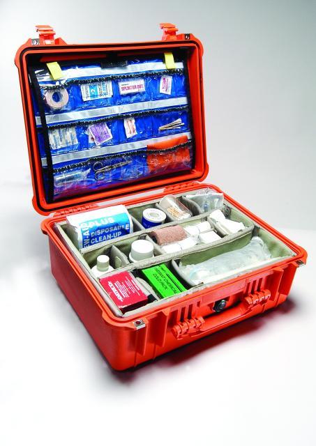 Odolný kufr PELI 1550EMS pro záchranáře