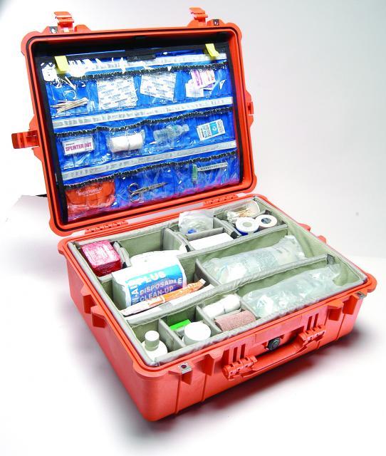 Odolný kufr PELI 1600EMS pro záchranáře
